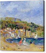 Le Lavandou Acrylic Print by Pierre Auguste Renoir