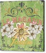 Le Magasin De Jardin Acrylic Print