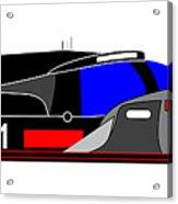 Le Mans 2011 Audi R18 Number 1 Acrylic Print