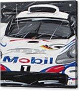Le Mans Porsche 911 Gt 1995 Acrylic Print