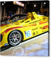 Le Mans Porsche Acrylic Print by Antique Hero