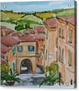 Le Marche, Italy Acrylic Print
