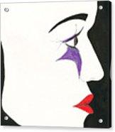 Le Masque Acrylic Print