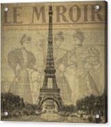 Le Miroir Acrylic Print