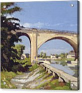 Le Pont Canal A Briare Acrylic Print