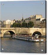 Le Pont Neuf. Paris. Acrylic Print by Bernard Jaubert