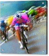 Le Tour De France 09 Acrylic Print