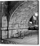 Le Vélo Acrylic Print by I hope you'll like it