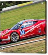 Lead Ferrari Acrylic Print