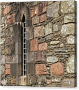 Leaded Nunnery Window Acrylic Print