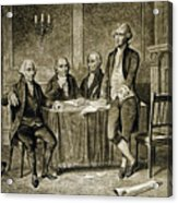 Leaders Of The First Continental Congress Acrylic Print