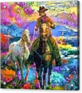 Leading The New Mare Acrylic Print