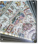 Leading To The Sistine Chapel Acrylic Print