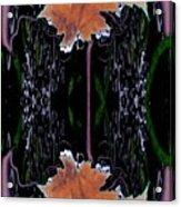 Leaf Melding Acrylic Print