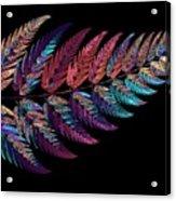 Leaf Reflection Acrylic Print