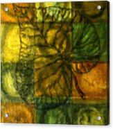 Leaf Whisper Acrylic Print