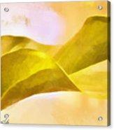 Leaf Y Acrylic Print