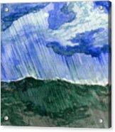Leaking Sky Acrylic Print
