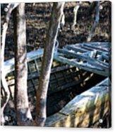 Leaky Boat Acrylic Print