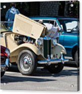 Leander Texas Car Show Viewing Acrylic Print