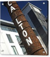 Leaning Tower Of Carlton Acrylic Print