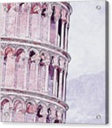 Leaning Tower Of Pisa - 03 Acrylic Print