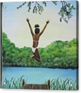Leap Of Faith Acrylic Print