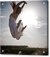 Leaping For The Sun Acrylic Print