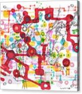 Learning Circuit Acrylic Print