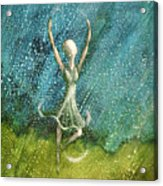 Learning To Dance In The Rain  Acrylic Print