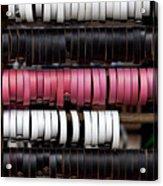 Leather Bracelets Acrylic Print