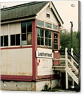 Leatherhead Station Acrylic Print
