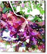 Leave In Autumn Acrylic Print