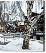 Leavenworth Lights Remain Acrylic Print