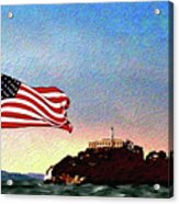 Leaving Alcatraz Acrylic Print