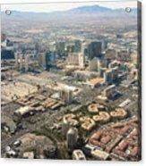 Leaving Las Vegas 3 Acrylic Print
