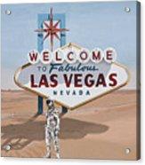 Leaving Las Vegas Acrylic Print