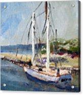 Leaving Sesuit Harbor Acrylic Print
