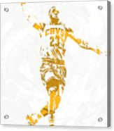Lebron James Cleveland Cavaliers Pixel Art 12 Acrylic Print