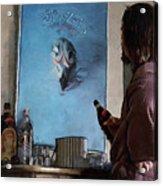 Lebwoski Makes His Peace With The Eagles - The Big Lebowski Acrylic Print