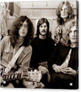 Led Zeppelin 1969 Acrylic Print
