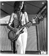 Led Zeppelin Jimmy Page '69 Acrylic Print