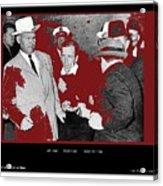 Lee Harvey Oswald Shot By Jack Ruby Photo Taken By  Dallas Times Herald Photographer Bob Jackson  Acrylic Print