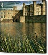 Leeds Castle In Kent Acrylic Print