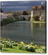 Leeds Castle In Kent United Kingdom Acrylic Print