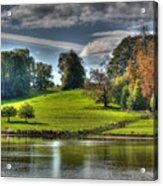 Leeds Castle Lake View Acrylic Print