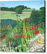 Leeds Garden Acrylic Print