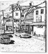Leeside Tavern Acrylic Print