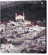 Lefkes Greece Island Of Paros Acrylic Print