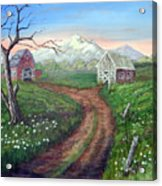Left Behind - The Old Homestead Acrylic Print